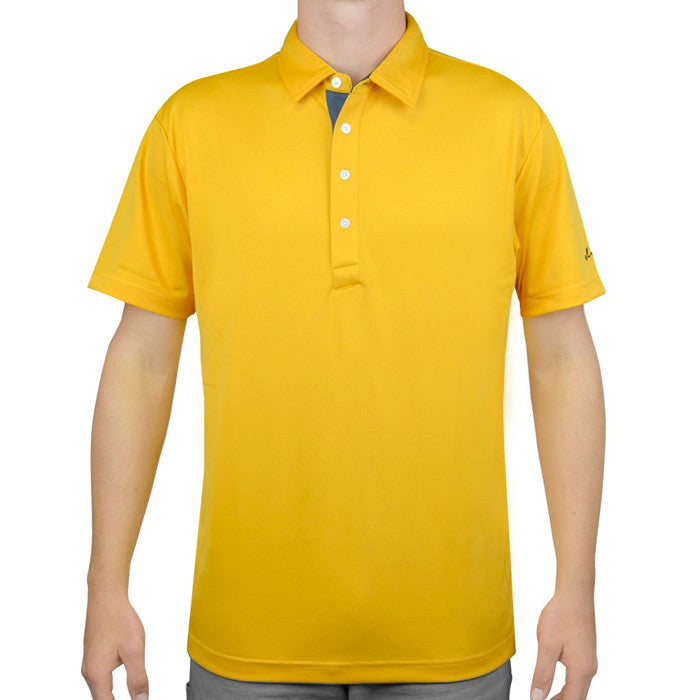 Sligo BENN Mens Polo - Taxi Yellow at GolfAnything.ca