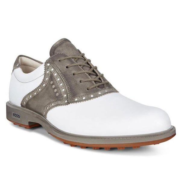 NEW - ECCO Mens Tour Hybrid Saddle White/Dark Clay