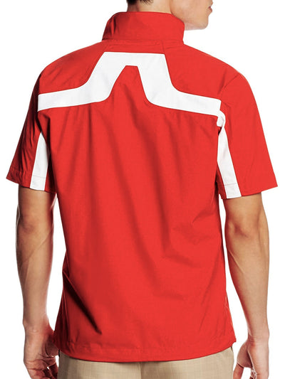 J Lindeberg Men's Swing Tee JL 2.5 Ply - RED INTENSE