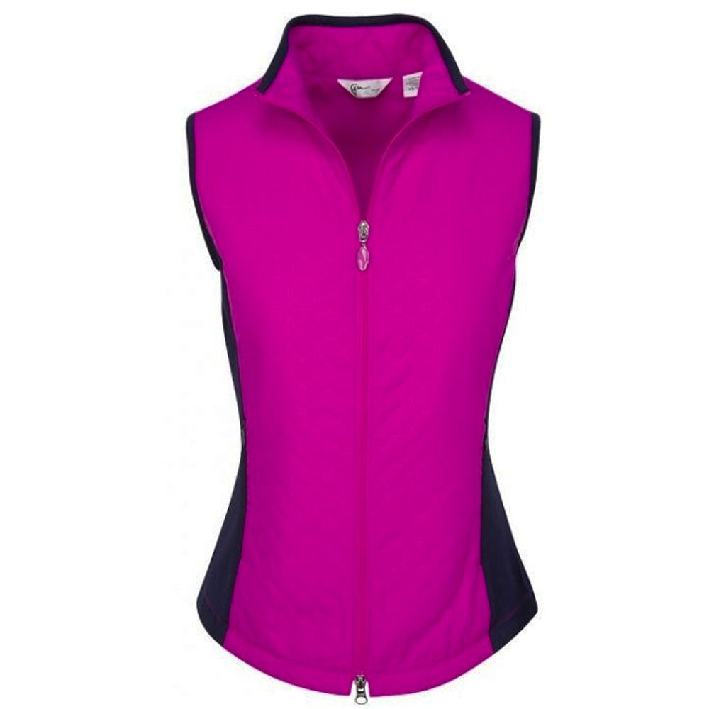Greg Norman Womens Sonic Embossed Quilted Vest