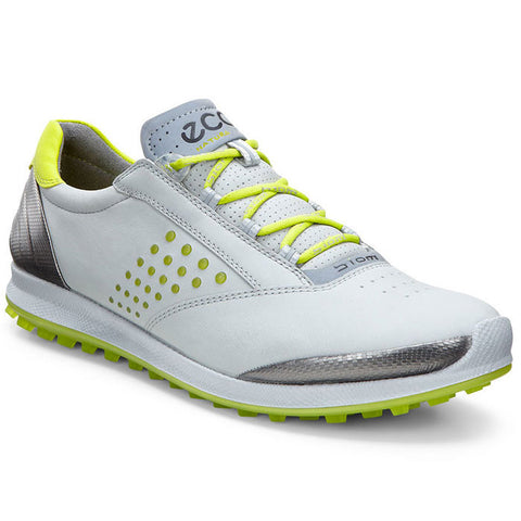 ECCO Womens BIOM Golf Hybrid 2 - CONCRETE/LIME