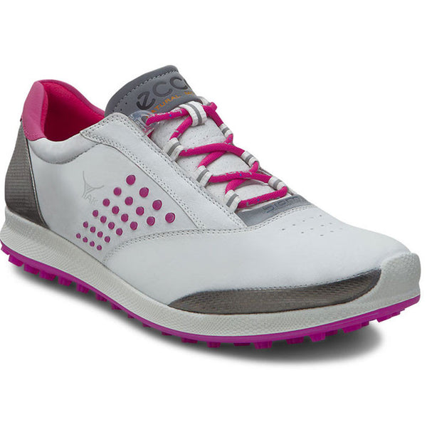 ECCO Womens BIOM Golf Hybrid 2 - WHITE/CANDY