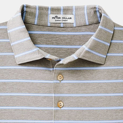 Peter Millar -  Mens Hanover Performance Polo - GALE GREY