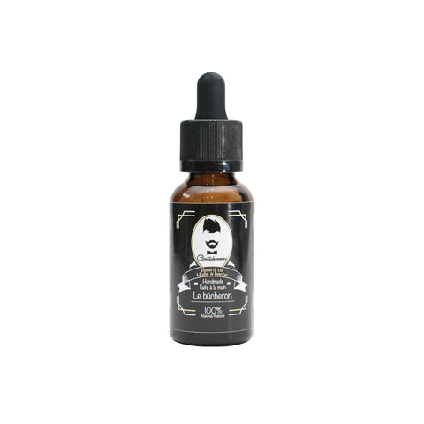 Huile à barbe/Beard Oil - Le Bûcheron  1oz/30ml