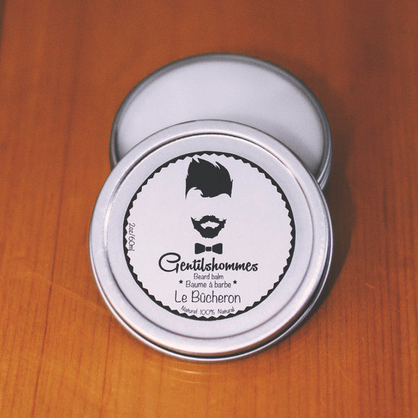 baume barbe beard balm le b cheron 2oz 60ml gentilshommes. Black Bedroom Furniture Sets. Home Design Ideas