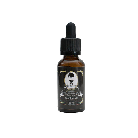 Huile à barbe/Beard Oil - Montecristo  1oz/30ml - Gentilshommes