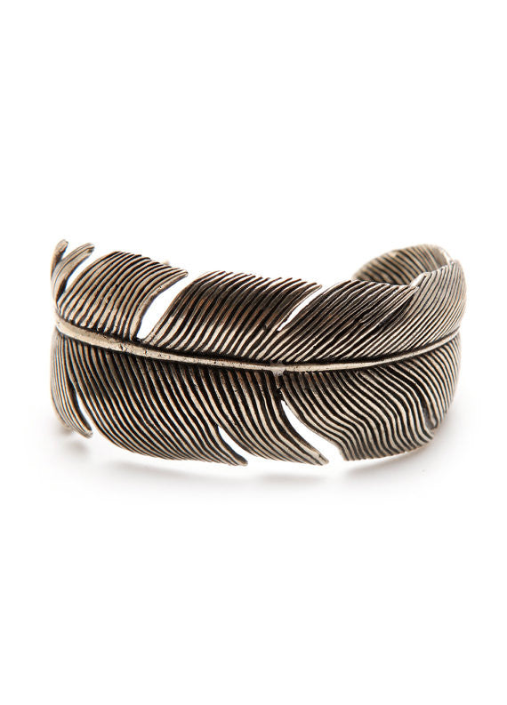 Feather Hold My Arm Cuff Bracelet