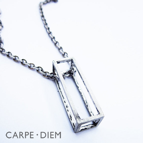 Cubic Rectangle Necklace