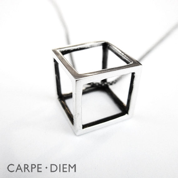 In The Cube Necklace