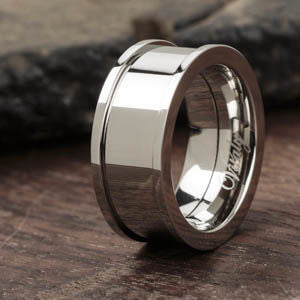 Clean Shiny Interchangeable Ring