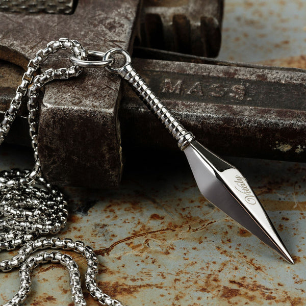 Mens Jewellery Shop Kunai Ninja Necklace