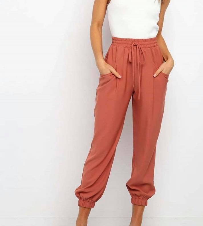 AMELIE PANTS | RUST
