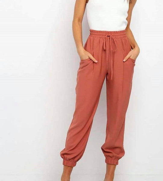 AMELIE PANTS | RUST - SALE