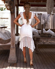 GISELLE DRESS | WHITE