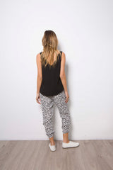 KEEP IT CASUAL PANTS | Animal Print