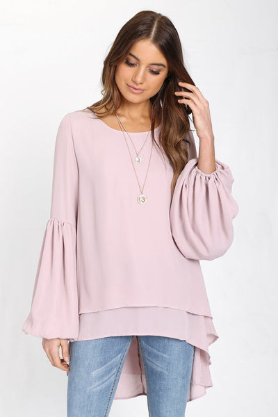 Spencer Top | DUSTY PINK - SALE