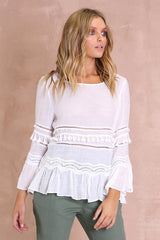 Chantelle Top | White