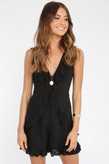 Lunar Playsuit | BLACK
