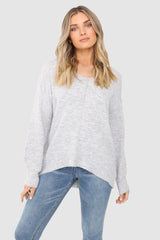 CALLISTA KNIT | GREY - SALE