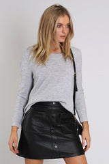Dark Rider Skirt | BLACK - SALE