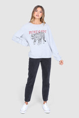 RENEGADE SWEATER | GREY