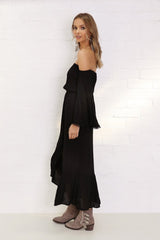 Lulu Maxi Dress - Black