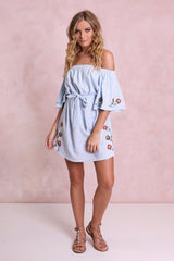 Zoeva Dress | BLUE - REDUCED