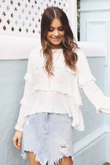 Nadine Top | WHITE