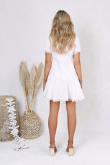 Simone Dress | WHITE - SALE