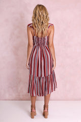 Havana Midi Dress | Stripe - SALE