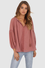 COVE TOP | ROSE