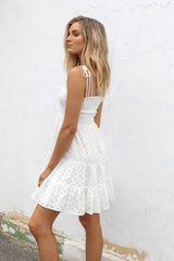 ALEXIE DRESS | WHITE
