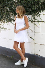 Jessie Dress | WHITE - SALE