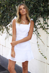 Jessie Dress | WHITE