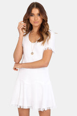 Simone Dress | WHITE