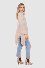 BELLS OUT PONCHO | NUDE