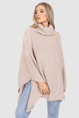 BELLS OUT PONCHO | NUDE - SALE