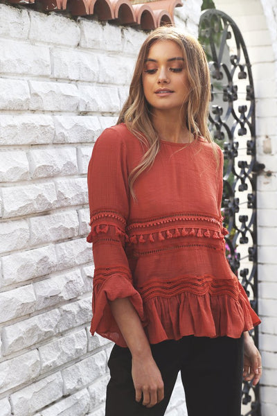 Chantelle Top | RUST