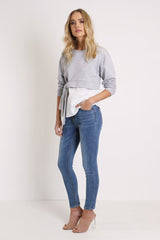 All Talk Jeans | Blue Denim - SALE