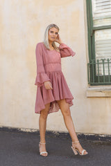 COVE DRESS | ROSE