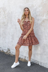 HOLLY BABY DOLL DRESS | PEACH - SALE