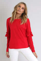 Izabel Top | RED - SALE