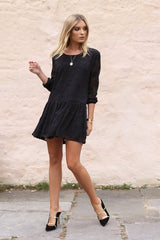 Melina Dress | BLACK