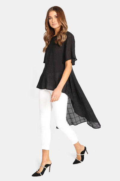 Thessy Top | BLACK - SALE