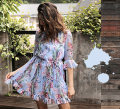 Louise Printed Dress - SALE