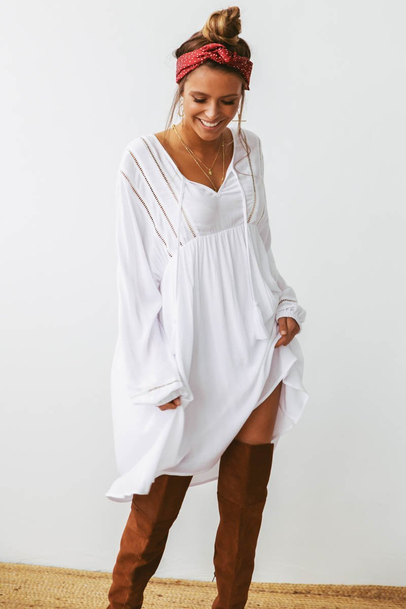 Tonic Tunic | WHITE