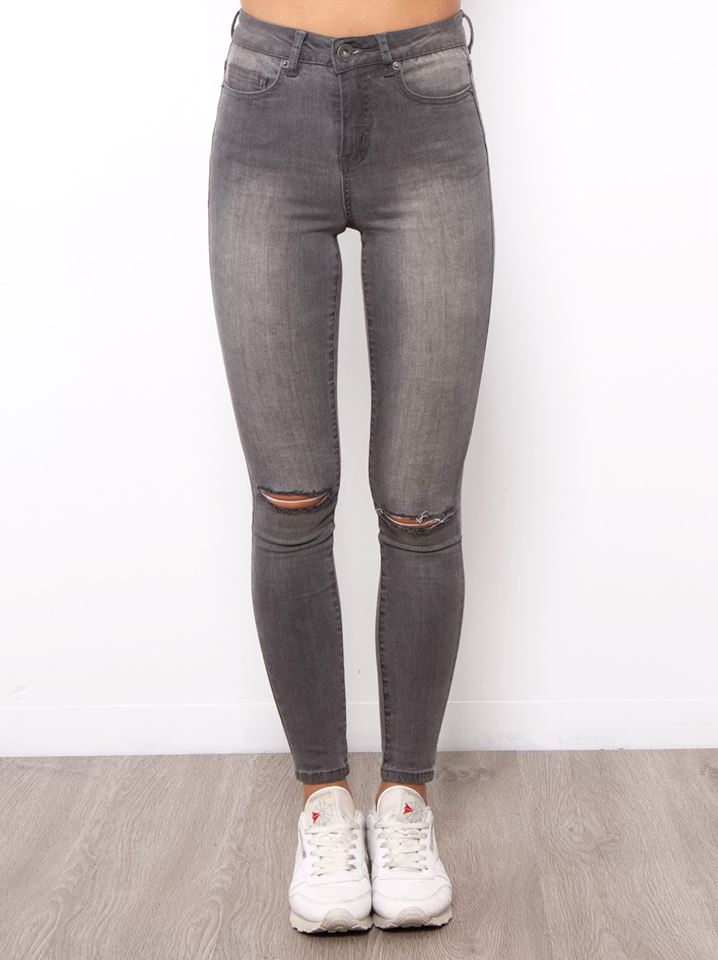Kendall Skinnies | CHARCOAL WASH - SALE