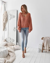 Lexie Knit | CORAL - SALE
