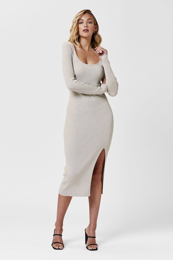 SEE THE LIGHT DRESS | CREAM