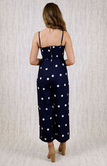 Veronica Jumpsuit | NAVY - SALE